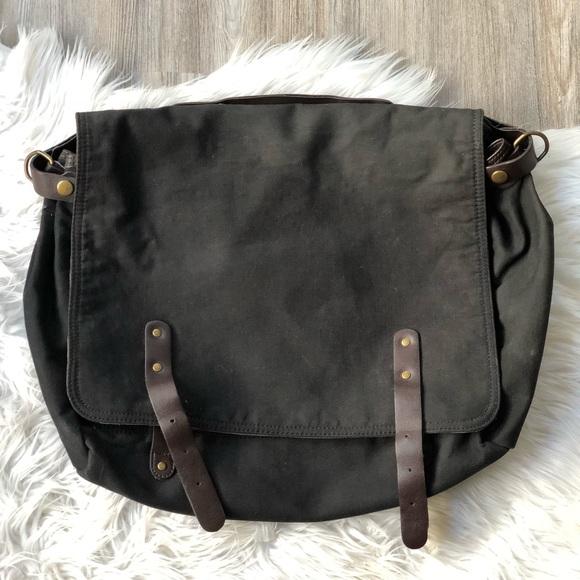 0abbfc55d4 GAP Handbags - Gap black messenger bag